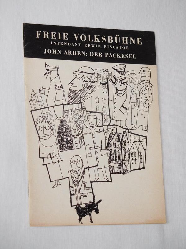 Programmheft 5 Freie Volksbühne Berlin 1963/64. Deutsche: Freie Volksbühne Berlin,