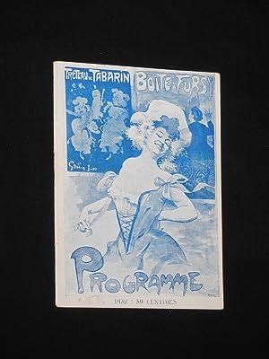 Treteau de Tabarin. Boite a Fursy, Paris. Variete-Programm mit Henry Fursy, Robert Casa, Mlle. ...