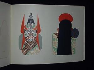 Schmink-Masken der Peking-Oper. Zum Ausschneiden.: Entw�rfe von Dschang Guang-Y�, Malerei von ...