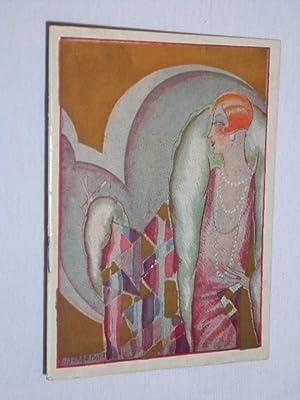Théatre du Gymnase Paris 1933. LE BONHEUR de Henry Bernstein. Mit Charles Boyer, Yvonne ...