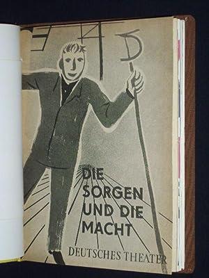 Programmheft-Sammlung Deutsches Theater und Kammerspiele, Staatstheater Berlin,: Redaktion: Dramaturgie