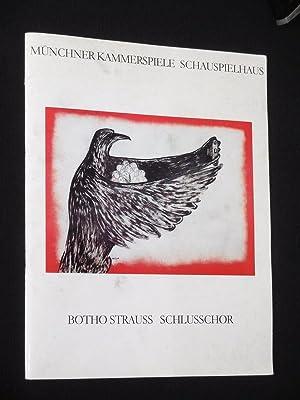 Programmheft 1 Münchner Kammerspiele 1990/ 91. Uraufführung: Herausgeber: Münchner Kammerspiele,