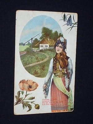 Postkarte Ansichtskarte Künstlerpostkarte Marlene Dietrich 1932