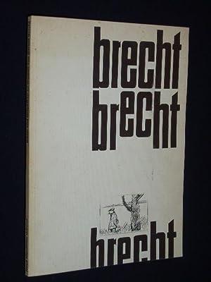 Bilder und Graphiken zu Werken von Bertolt: Zusammenstellung u. Red.: