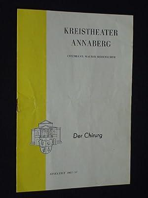 Programmheft-Sammlung Stadttheater Annaberg-Buchholz und Kreistheater Annaberg (Erzgebirge). 43 ...