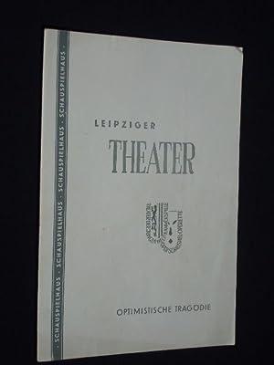 Programmheft 10 Städtische Theater Leipzig, Schauspielhaus 1958.: Herausgegeben von der