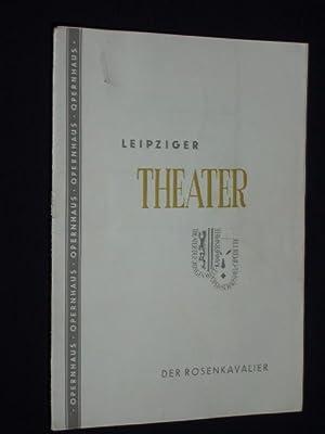 Programmheft 7 Städtische Theater Leipzig, Opernhaus 1953.: Herausgegeben von der