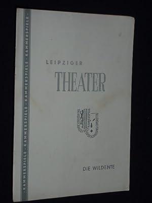 Programmheft 7 Städtische Theater Leipzig, Kammerspiele 1957.: Städtische Theater Leipzig,