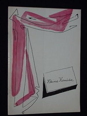 Programmheft 1, Ausgabe 2, Kleine Komödie München,: Herausgeber: Theater Kleine