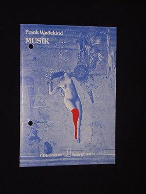 Programmheft 9 Städtische Bühnen Osnabrück, emma-theater 1990/91.: Herausgeber: Städtische Bühnen