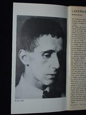 Programmheft 9 Münchner Kammerspiele 1979/80. TROMMELN IN: Herausgeber: Münchner Kammerspiele,