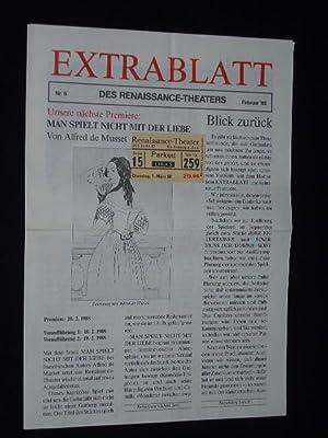 Extrablatt des Renaissance-Theaters, Nr. 6, Februar 1988.: Herausgeber: Renaissance-Theater, Intendant: