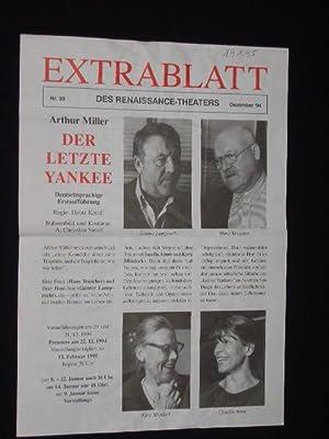 Extrablatt des Renaissance-Theaters, Nr. 39, Dezember 1994.: Herausgeber: Renaissance-Theater, Intendant: