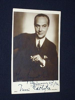 Künstler-Postkarte Anton Edthofer, signiert, 1932: Anton Edthofer