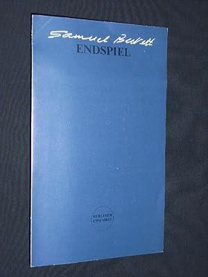 Programmzettel Berliner Ensemble 1994/95. ENDSPIEL von Samuel: Berliner Ensemble, Samuel
