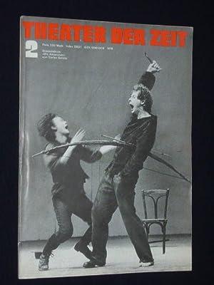Theater der Zeit. Organ des Verbandes der Theaterschaffenden der DDR [ab Heft 4/90: Theater ...