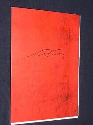 Programmbuch Schaubühne am Lehniner Platz 1995. DER: Red.: Schaubühne am