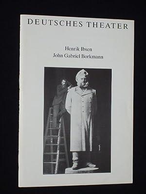 Programmheft Deutsches Theater Berlin, Kammerspiele 1990/91. JOHN: Deutsches Theater Berlin,