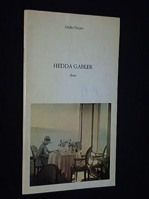 Programmheft 79 Schiller-Theater Berlin 1977. HEDDA GABLER: Staatliche Schauspielbühnen Berlin,