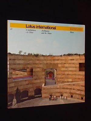 Lotus international 43. Rivista trimestrale di architettura: Pierluigi Nicolin (Redazione/Editorial)