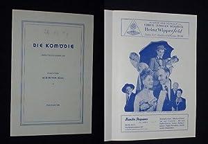 Programmzettel Die Komödie am Kurfürstendamm 1947. MEINE: Komödie am Kurfürstendamm,