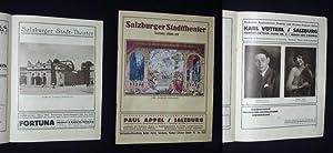 Salzburger Stadttheater, Saison 1926/27 [Jahresheft]: Stadt-Theater Salzburg, Direktor: Paul ...