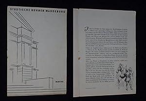 Programmheft 5 Städtische Bühnen Magdeburg 1958. MARTHA: Städtische Bühnen Magdeburg,