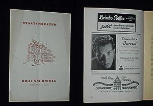 Programmheft 6 Staatstheater Braunschweig 1954/55. SCHWARZWALDMÄDEL von: Herausgegeben von der