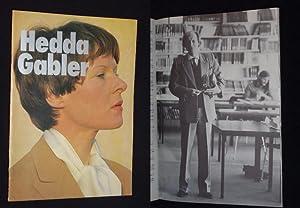 Programmheft Schauspielhaus Bochum 1977. HEDDA GABLER von Henrik Ibsen. Insz.: Peter Zadek, Bü...