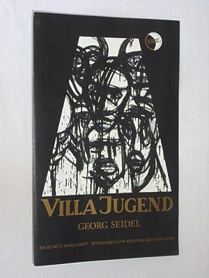 Programmzettel Berliner Ensemble 1994. Uraufführung/ Wiederaufnahme VILLA: Berliner Ensemble, Georg