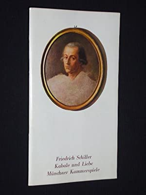Programmheft 4 Münchner Kammerspiele Schauspielhaus 1978. KABALE: Herausgeber: Münchner Kammerspiele,