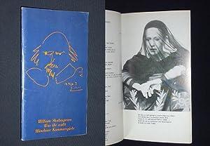 Programmheft 3 Münchner Kammerspiele Schauspielhaus 1980. WAS: Herausgeber: Münchner Kammerspiele,