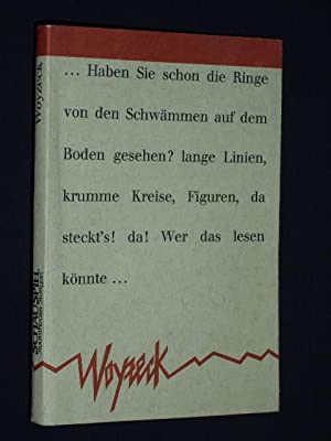 Progammbuch Staatstheater Stuttgart 1986. WOYZECK von Georg: Herausgeber: Schauspiel Staatstheater