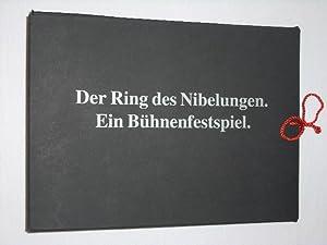 Programmbuch Oper Frankfurt 1994. DER RING DES NIBELUNGEN BÜHNENFESTSPIEL IN EINEM VORABEND ...