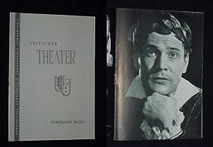 Programmheft 35 Städtische Theater Leipzig, Kammerspiele 1958/59.: Städtische Theater Leipzig,
