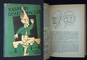 Kasperlgeheimnisse [Einbandtitel: Kasperl-Geheimnisse]. Zeichnungen: Titel und Figuren: Gustav Resatz