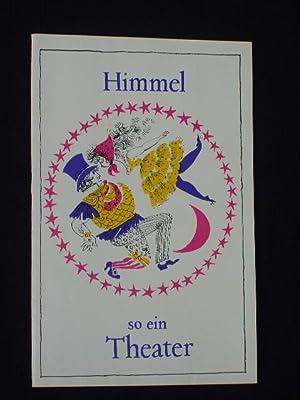 Programmheft Metropol-Theater Berlin 1963/64. HIMMEL, SO EIN: Herausgegeben von der