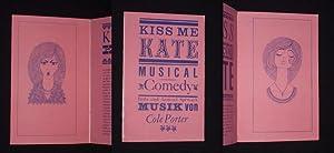Programmheft Metropol-Theater Berlin 1964/65. KISS, ME KATE: Metropol-Theater Berlin, Intendant:
