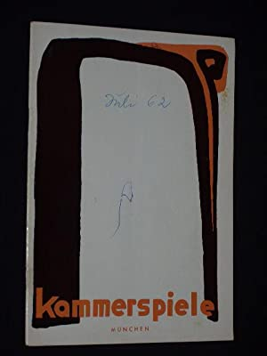 Programmheft 4 Münchner Kammerspiele 1963/64. OTHELLO von: Münchner Kammerspiele, Intendant: