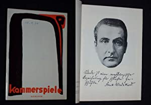 Programmheft 8 Kammerspiele München 1969/70. DER MARQUIS: Münchner Kammerspiele, Intendant: