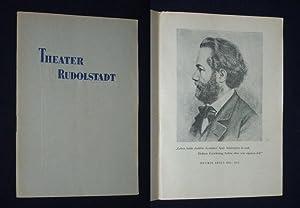 Programmheft Theater Rudolstadt 1954/55. NORA von Henrik: Herausgeber u. verantwortl.