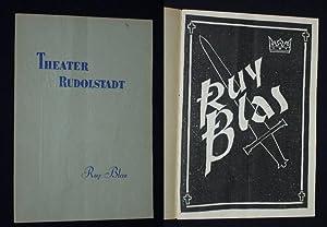 Programmheft Theater Rudolstadt 1959/60. RUY BLAS von: Herausgeber u. verantwortl.