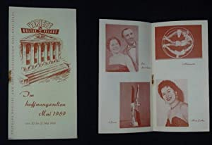Programmheft Variete Kulturpalast Karl-Marx-Stadt 20. bis 27.: Variete Kulturpalast Karl-Marx-Stadt