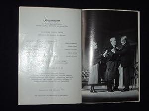 Programmheft 218 Schloßpark-Theater 1971. GESPENSTER von Henrik: Herausgegeben von der
