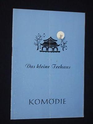 Programmheft Komödie Berlin 1954. DAS KLEINE TEEHAUS: Komödie Berlin (Hg.);