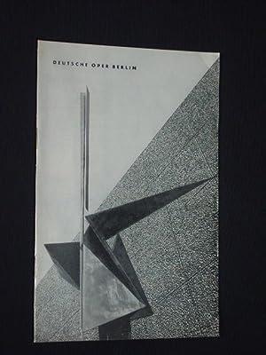 Programmheft Deutsche Oper Berlin, Gastspiel Sadler's Wells: Deutsche Oper Berlin,