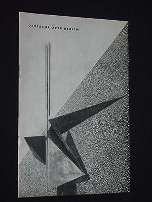 Programmheft Deutsche Oper Berlin September 1963/64. DON GIOVANNI von da Ponte, Mozart (Musik)...