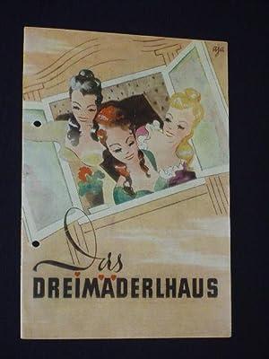 Programmheft Metropol-Theater Berlin um 1948. DREIMÄDERLHAUS von: Metropol-Theater, A. M.