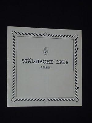 Programmheft Städtische Oper Berlin 1946. OTHELLO von: Städtische Oper Berlin;