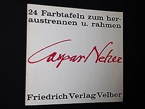 Caspar Neher. 24 Farbtafeln zum Heraustrennen und Rahmen: Siegfried Melchinger, Teo Otto